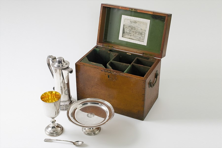 1852 Communion set, Fremantle Prison Collection