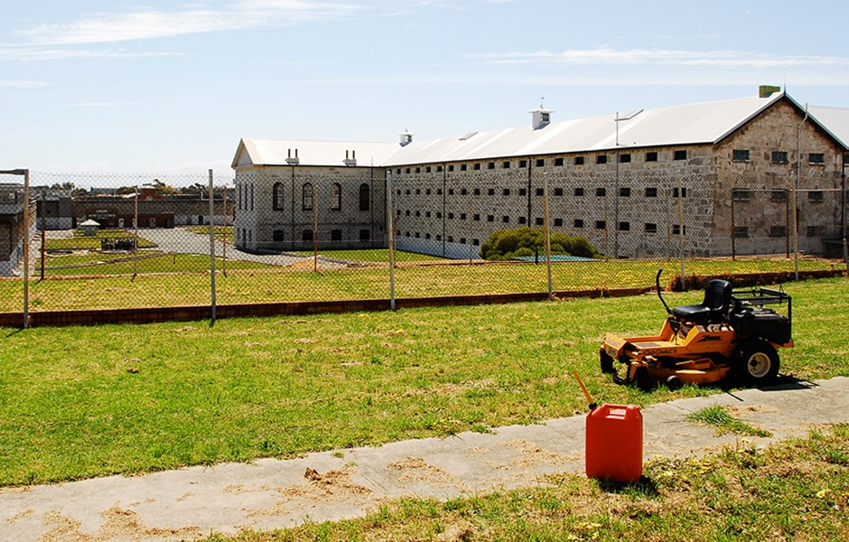 2008  Area in the south east corner of Prison looking  towards the Main Cell Block