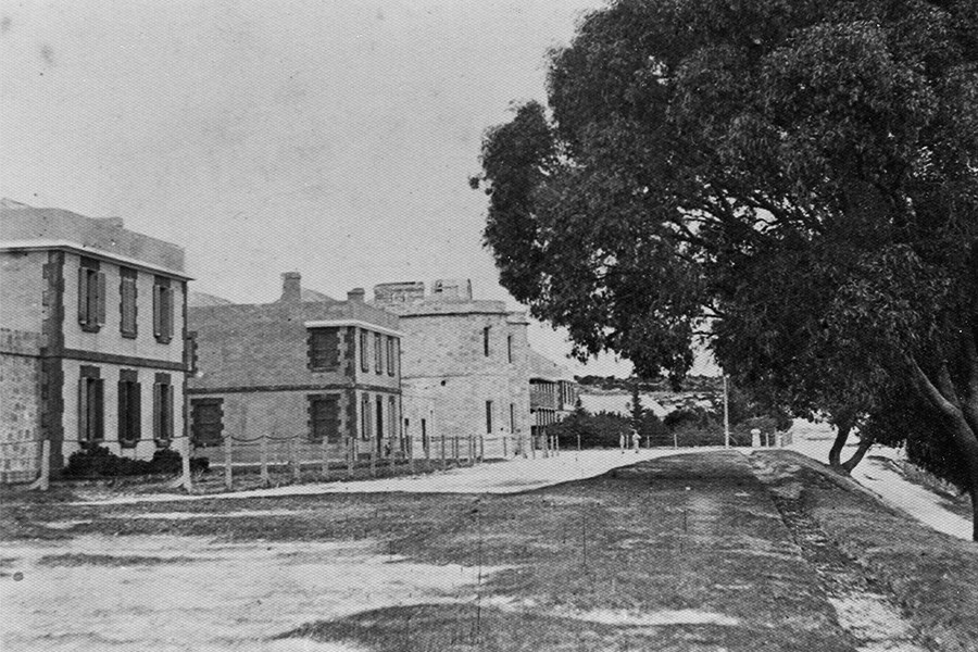 Late 1800s  Northern end of The Terrace. J. Manning. Courtesy of Battye Library