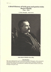 A Brief History of Irish poet and patriot John Boyle O'Reilly - 200x300.png